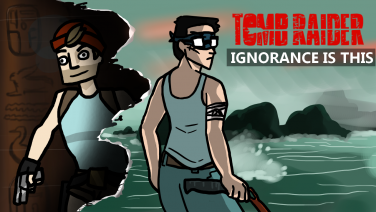 Tomb Raider episode art designed and illustrated by Eden Andrews
