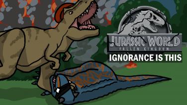 Jurassic World Fallen Kingdom By Eden Andrews