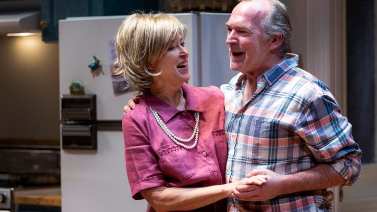 """Linda Hopper with Greg Stone in Malthouse's production of """"Australian Realness"""""""