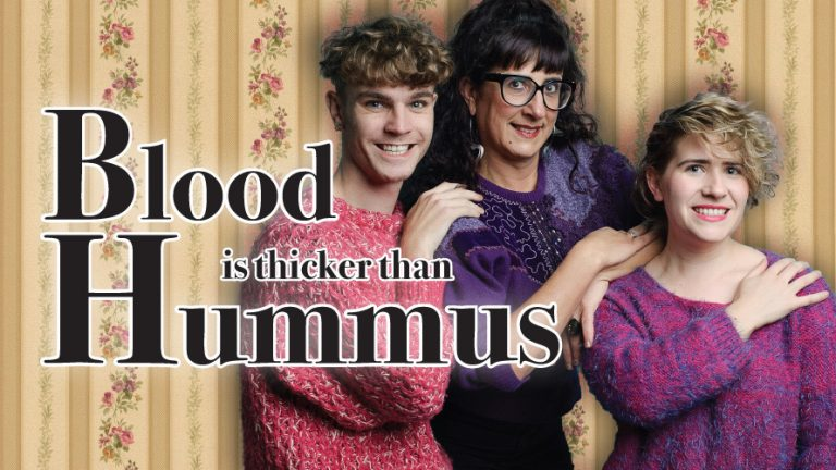 Promotional image for Blood is Thicker Than Hummus