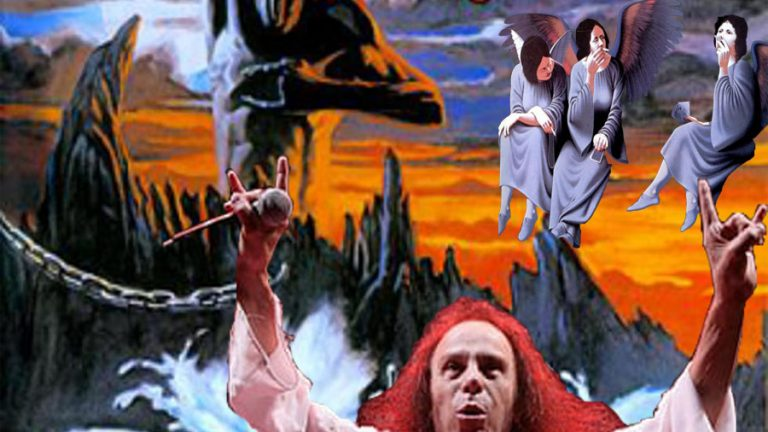 Ep Heaven and Hell vs Holy Diver