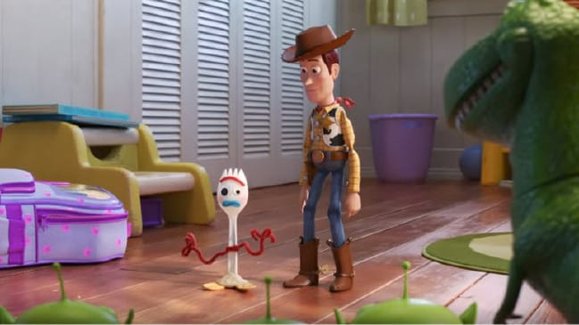 Forky is the newest character in the Toy Story franchise, Credit: Disney.