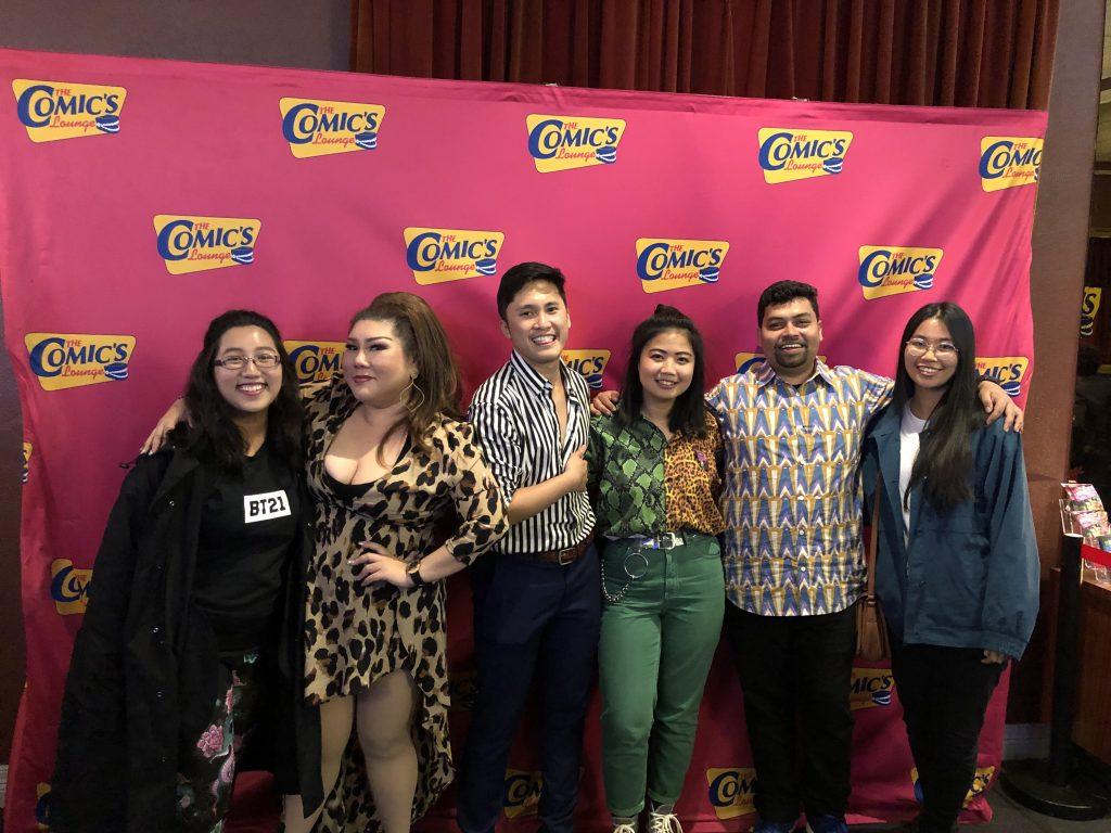 Nicole de Souza, Joanne Kam, Hirzi Zulkiflie, Margot Tanjutco, Navin Noronha & Celeste Chan.