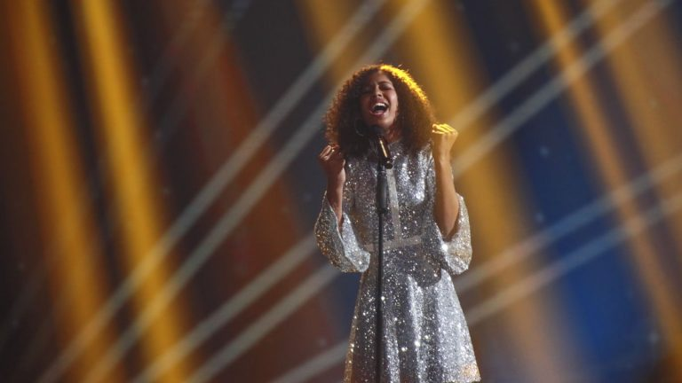 Jael Wena places third at Junior Eurovision, Credit: ABC.
