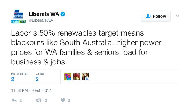 Liberals tweet