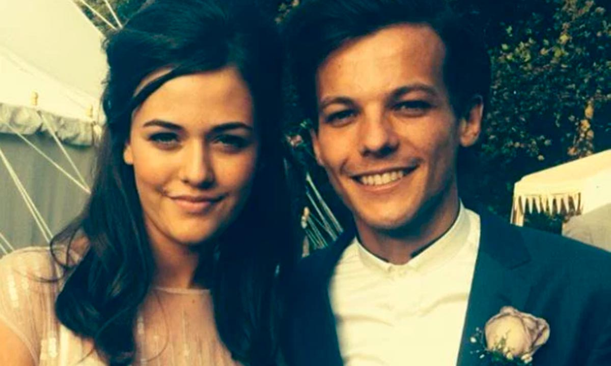 Louis Tomlinson pictured with his sister Felicite, Credit: Instagram.