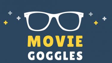 Movie goggles logo