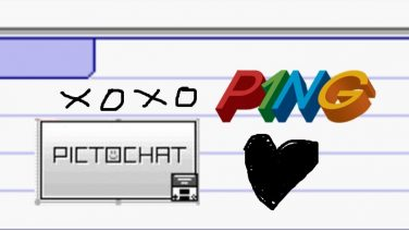 P1NG PictoChat head
