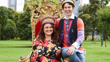 Chrissie Swan and Jimmy Giggle (Rees) announced as new monarchs of Moomba, Credit: Supplied.