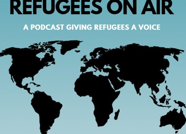 Refugees on air poster