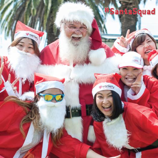 Variety Santa Fun Run