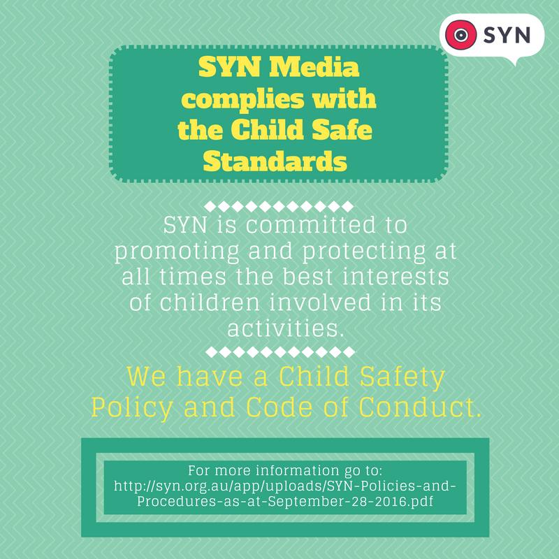 SYN Child Safe Standards
