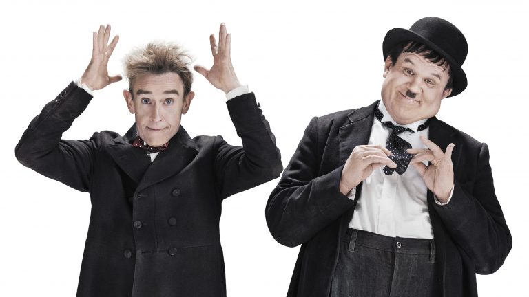 Steve Coogan (left) and John C. Reilly in a promotional image for Stan & Ollie