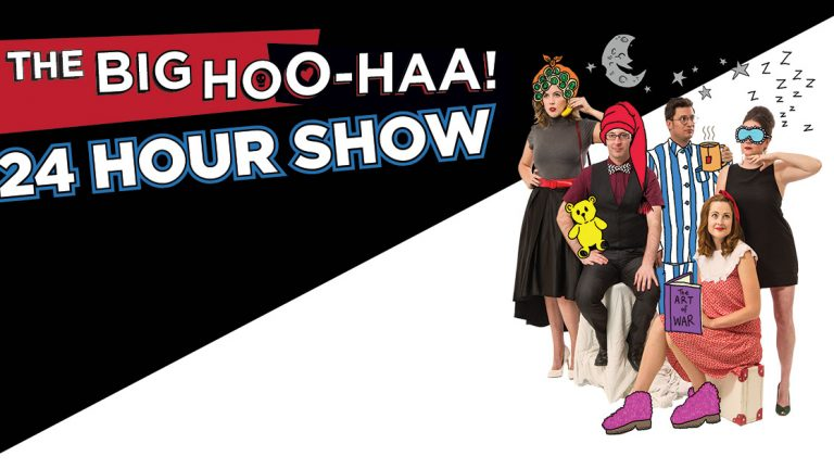 The Big HOO-HAA 24 Hour Show FB - Photo credit - Mark Gambino