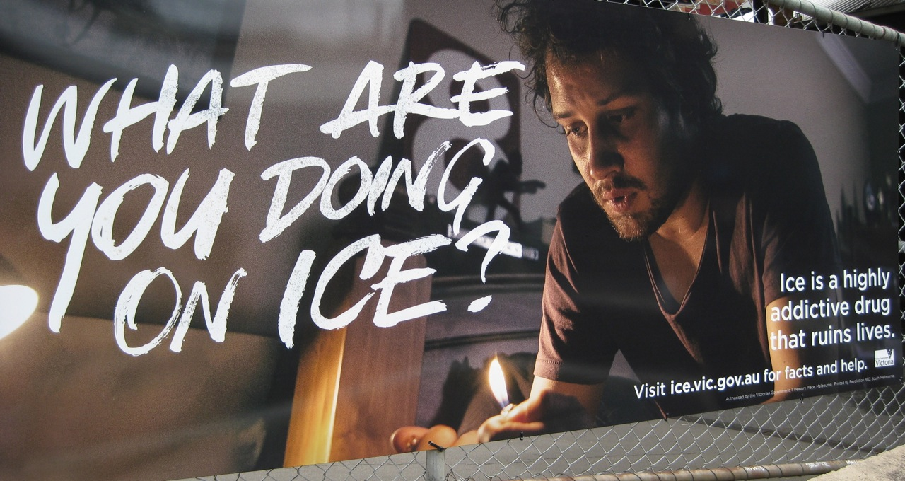 report on the ice epidemic The ice epidemic as a reporter, you think you have a fair idea of what's going on around the traps as the father of young children, you hope you'll be wise enough to keep them safe from serious harm.