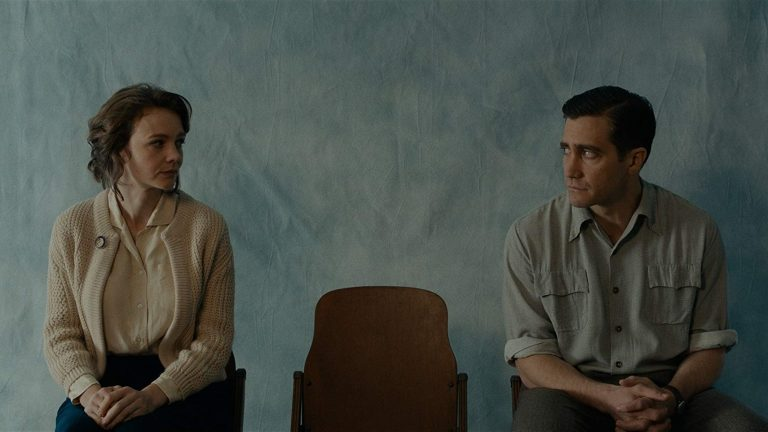 Carey Mulligan and Jake Gyllenhaal in the film 'Wildlife'