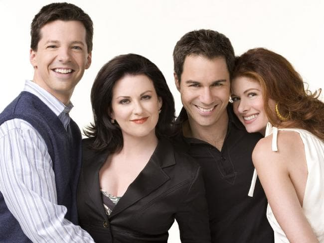 David Schwimmer is set to play a love interest to Debra Messing's character on Will & Grace, Credit: Supplied.