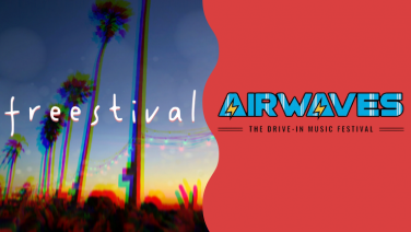 freestival and airwaves festival logos
