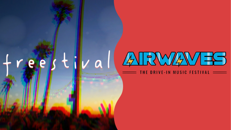 freestival and airwaves festival logos