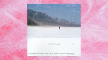 the japanese house album artwork on fairy floss background