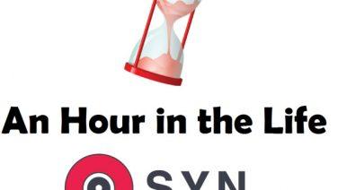an hour