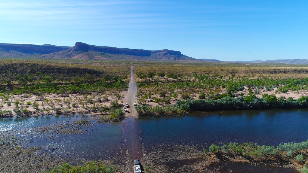 Pentecost River Crossing - Gibb River Road