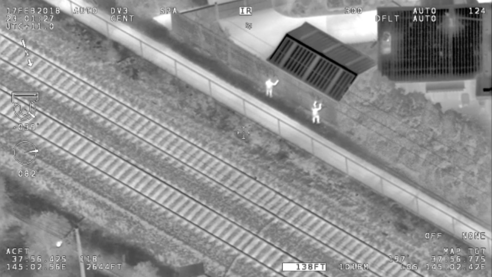 Metro Trains will use drones to catch graffiti vandals across the rail network this weekend, Credit: Metro.