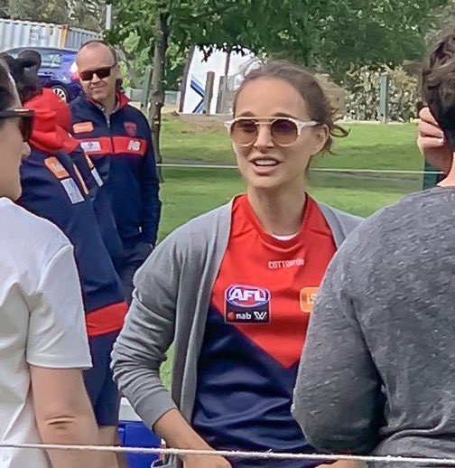 Natalie Portman brings touch of Hollywood glamour to Gosch's Paddock, Credit: Demonland, Twitter.