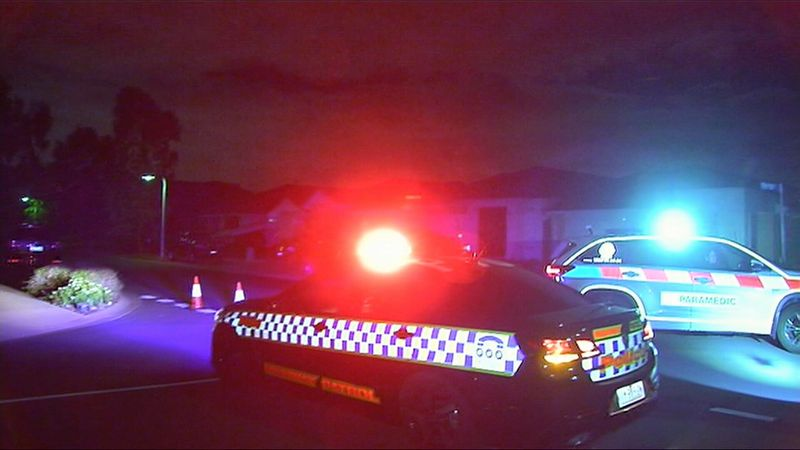 Police are investigating after a shooting in Spraypoint Drive, Point Cook. Credit: 9 News.