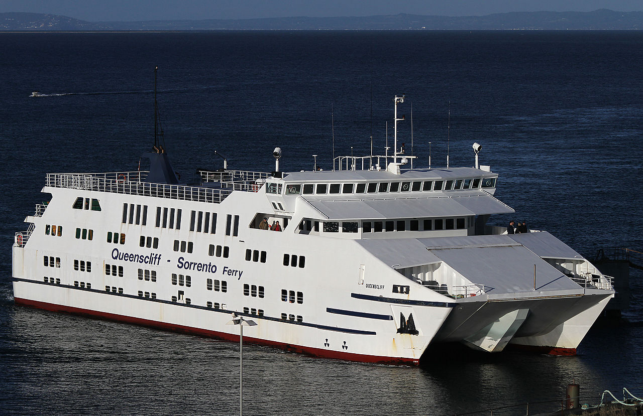The federal government has allocated $10 million funding to upgrade the Queenscliff ferry terminal, Credit: CC.