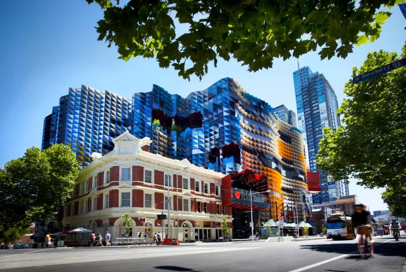 The teenage boy attends RMIT University in Melbourne, Credit: RMIT.
