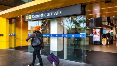 Tullamarine,,Vic/australia-june,15th,2018:,The,Gate,Of,Domestic,Arrivals,In