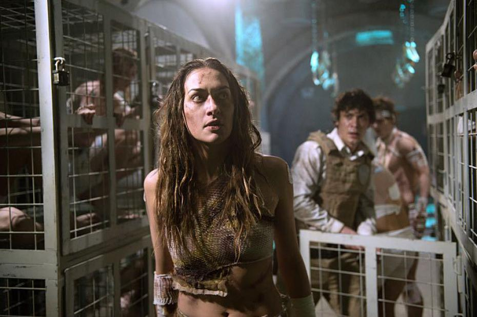 Taysa Teles pictured in a scene from The 100, Credit: Supplied, Pure Fandom.