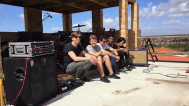 Perth band Young Robin