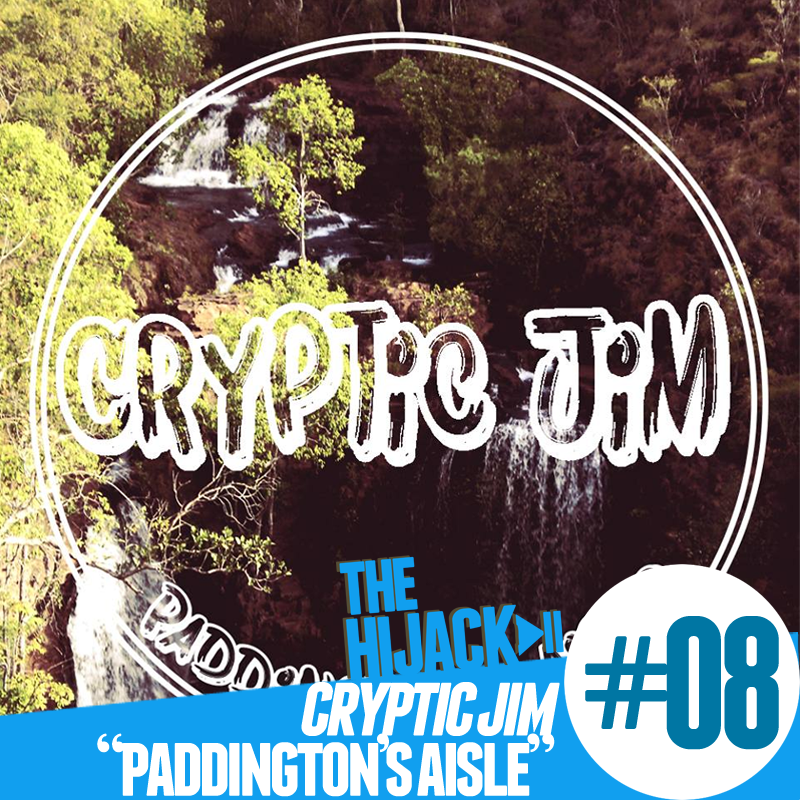 The words 'Cryptic Jim' in a circle