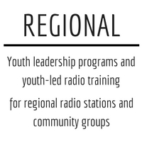 Radio station tours and youth training for regional stations