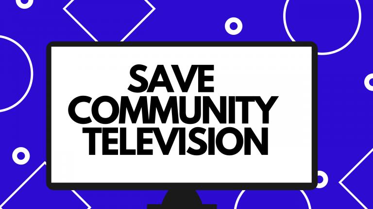 SAVE COMMUNITY TV