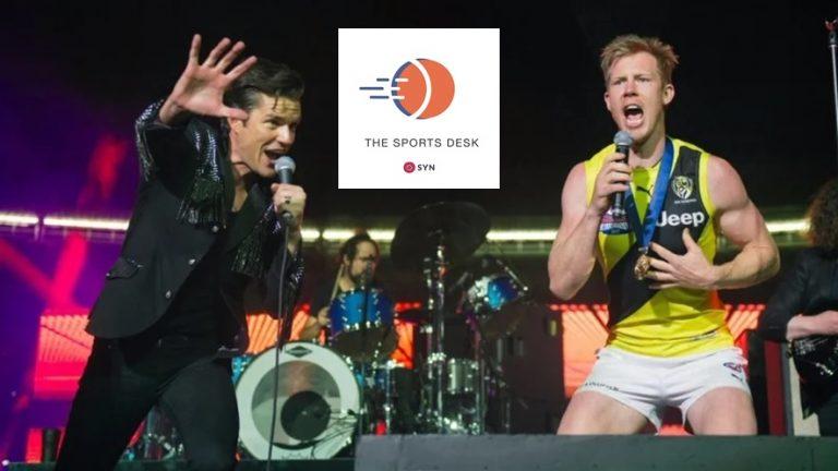Sports Anthems header