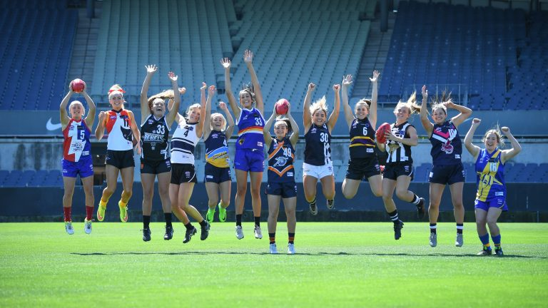 TAC Cup Girls players