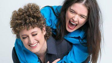 Alexandra Hines and Chloe Martin star in C31 dramedy 'Dee-Brief'.