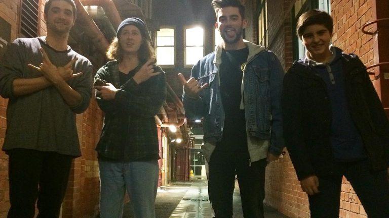 Josh & Jamal with Matt & Sean from The Deloraines