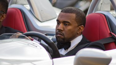 Cannes,,France,-,May,19:,Singer,Kayne,West,Drive,A