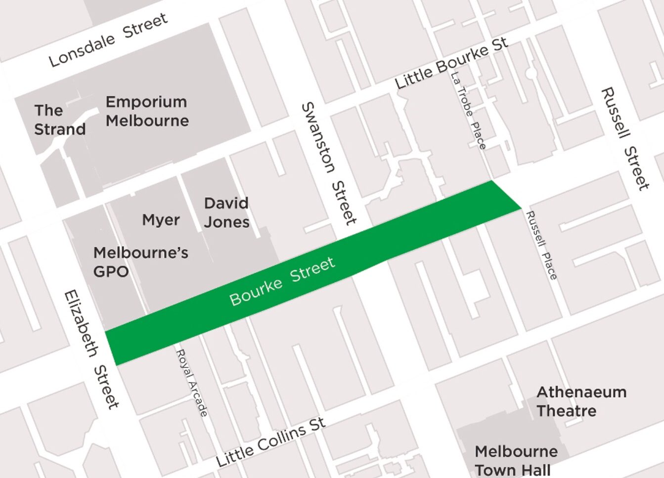 The council is considering extending the smoke-free zone to Swanston Street, Credit: Rohan Leppert, Twitter.